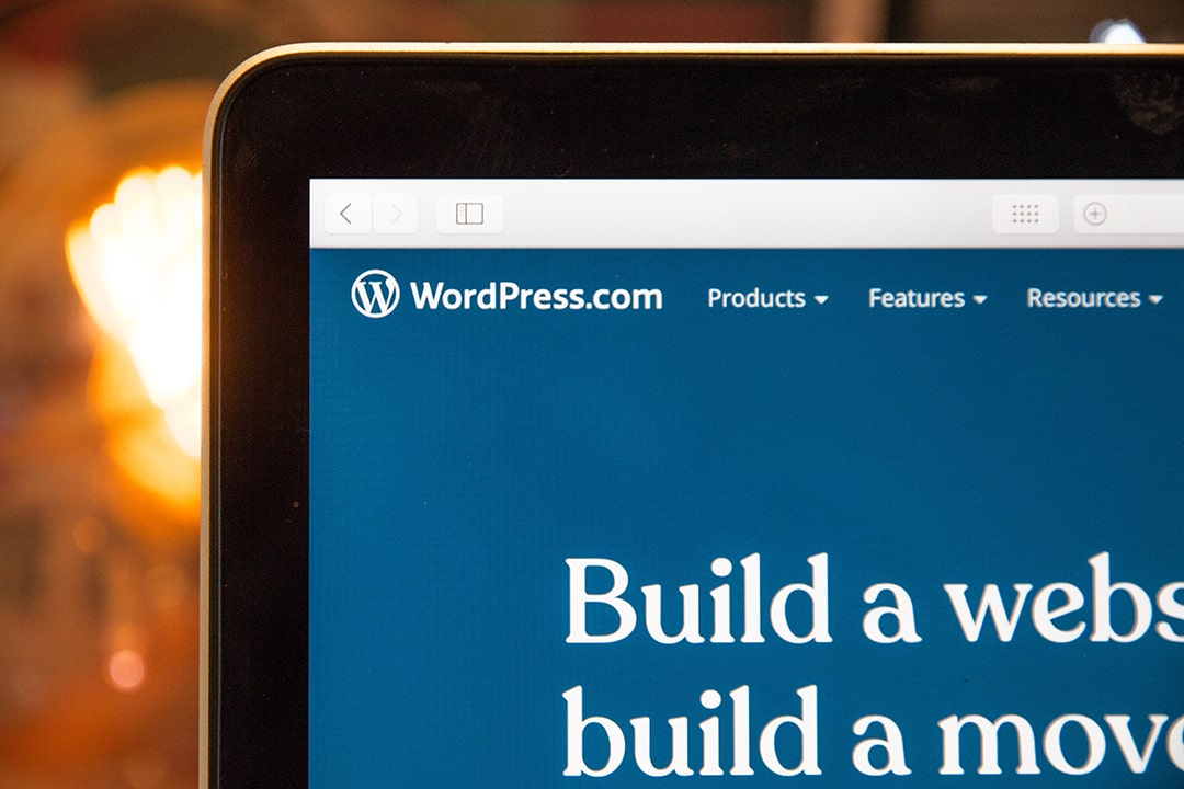 How to build my website using WordPress?
